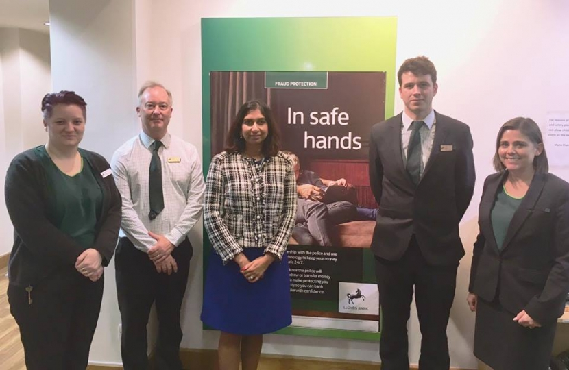 Lloyds Bank visit